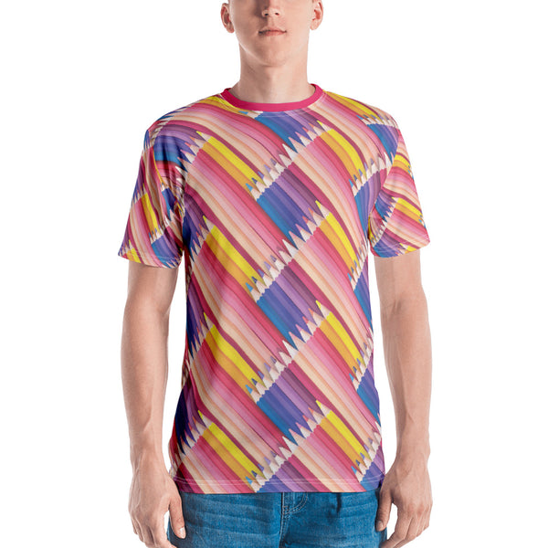 Pencils All Over! Men's T-shirt