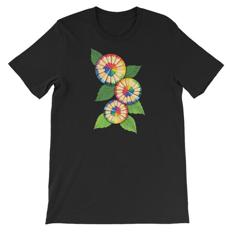 Colored Pencil Flowers Short-Sleeve Unisex T-Shirt