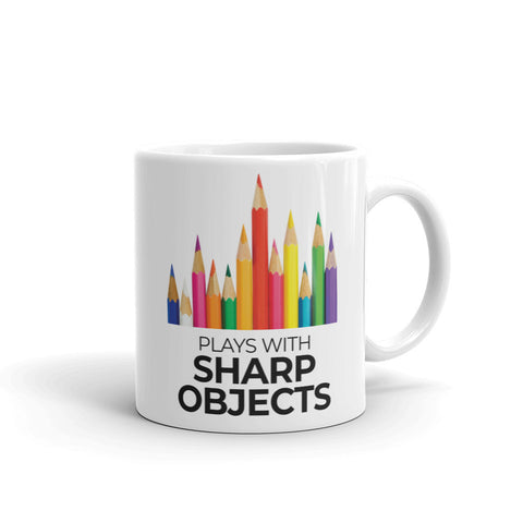 Plays with Sharp Objects Mug