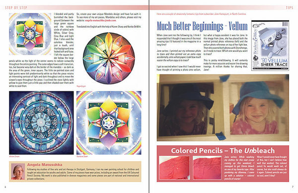 November 2014 - Ann Kullberg's Colored Pencil Magazine-Magazine-Ann Kullberg