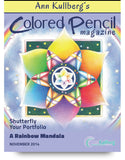 November 2014 - Ann Kullberg's Colored Pencil Magazine - Instant Download
