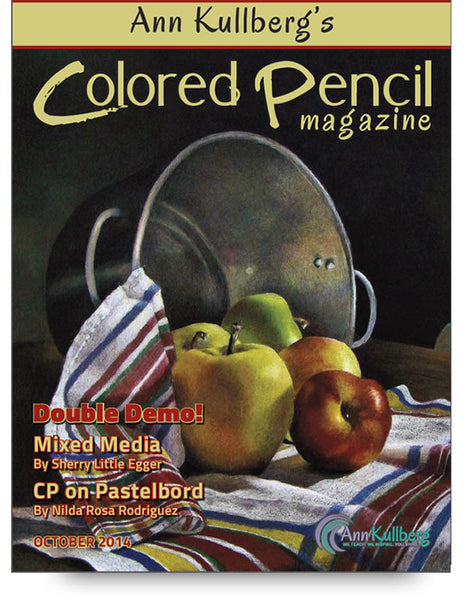 October 2014 - Ann Kullberg's Colored Pencil Magazine-Magazine-Ann Kullberg