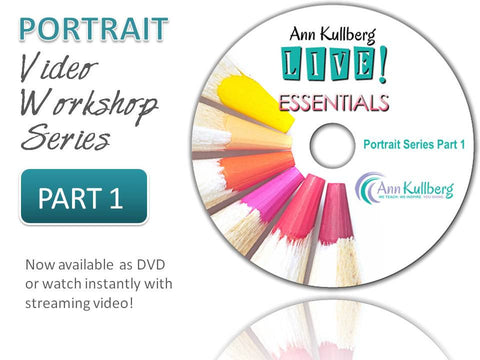 Portrait Video Series Part 1: Essentials to Ann's Portrait Techniques-Webinar-Ann Kullberg