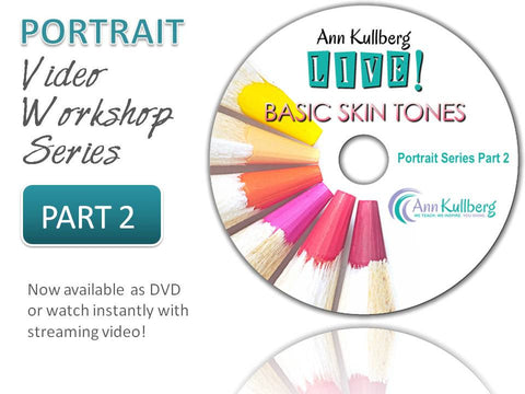 Portrait Video Series Part 2: Vertical Line & Basic Skin Tones-Webinar-Ann Kullberg