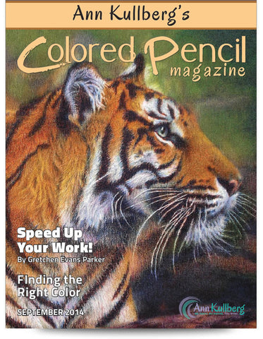 September 2014 - Ann Kullberg's Colored Pencil Magazine-Magazine-Ann Kullberg
