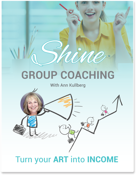 SHINE Coaching - Group Sessions-Advertising-Ann Kullberg