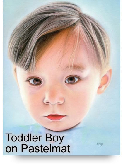 Toddler Boy Colored Pencil Project Kit - Instant Digital Download-Colored Pencil Project Kits-Ann Kullberg