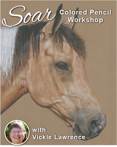 SOAR Workshop - Paint Horse on Brown Stonehenge - St. Albert, Alberta