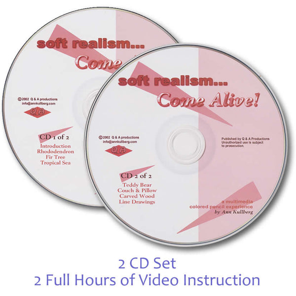 Video Workshop CD (2-disc set)-CD Combo-Ann Kullberg
