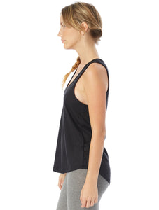Vintage Washed Tank Top for Women - Breathe More