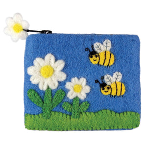 Bumble Bees Coin Purse