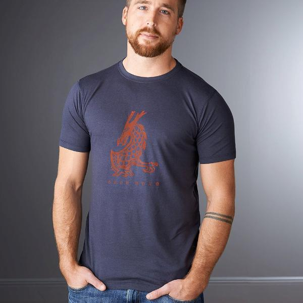 Dragon T shirts | Bamboo Organic Cotton Tshirt | Mens Graphic Tee