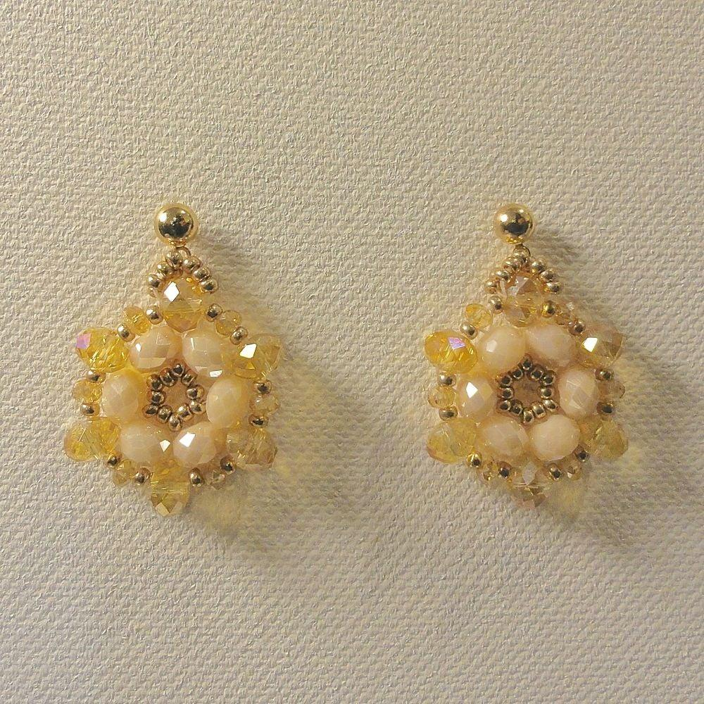 Czech Crystals Earrings Uni-T