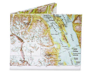 Map Paper Wallet Uni-T