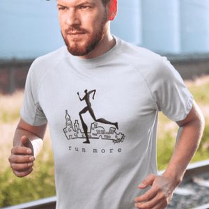 Runners T-shirt | Mens Running Shirt | Motivational workout t shirt