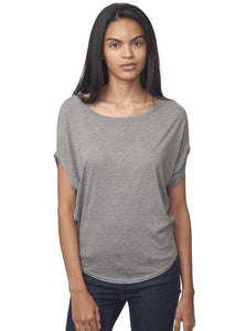 Poncho Style T-shirt for Women Uni-T