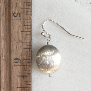Metal Assorted dangle gold/silver Circle Earrings Uni-T
