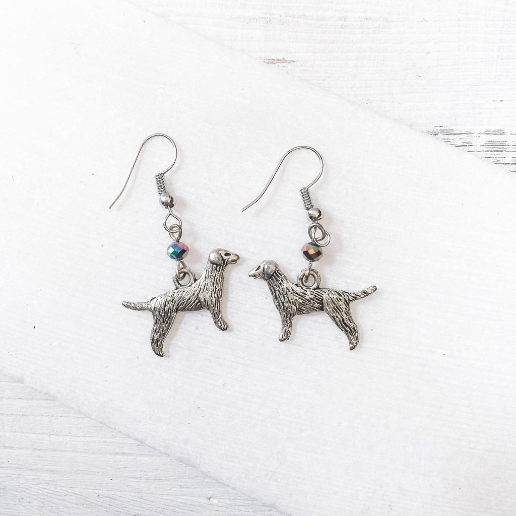 Dog Charm Earrings Uni-T