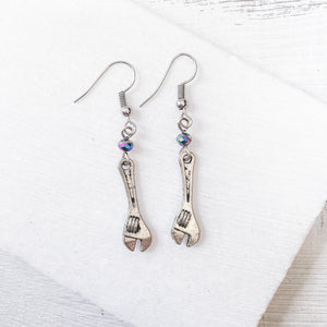 Wrench Charm Earrings Uni-T
