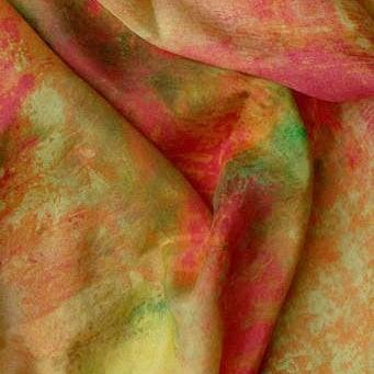 Oblong Silk Scarf - Autumn Glory Uni-T
