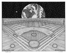 Ballpark Moon | Hearth Ave | Steam's Dream | Skeletus | 8X10 Art Prints Uni-T
