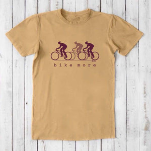 Men's Organic Bicycle T-shirt | Eco-friendly Cycling T shirt | Uni-T