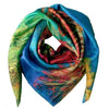 Square Silk Scarf - Bloom Uni-T