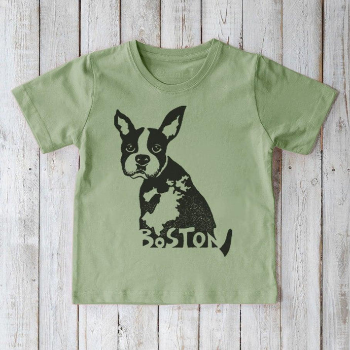 BOSTON Terrier T-shirt for Kids Uni-T