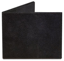Black Leather Paper Wallet Uni-T