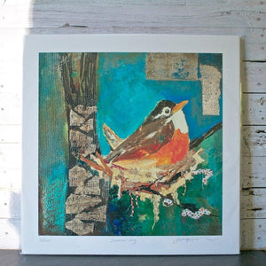 Summer Song - Giclee Print Uni-T