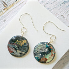 Round Polymer Clay  Earrings Uni-T