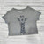GIRAFFE - Crop Top : LIMITED Uni-T