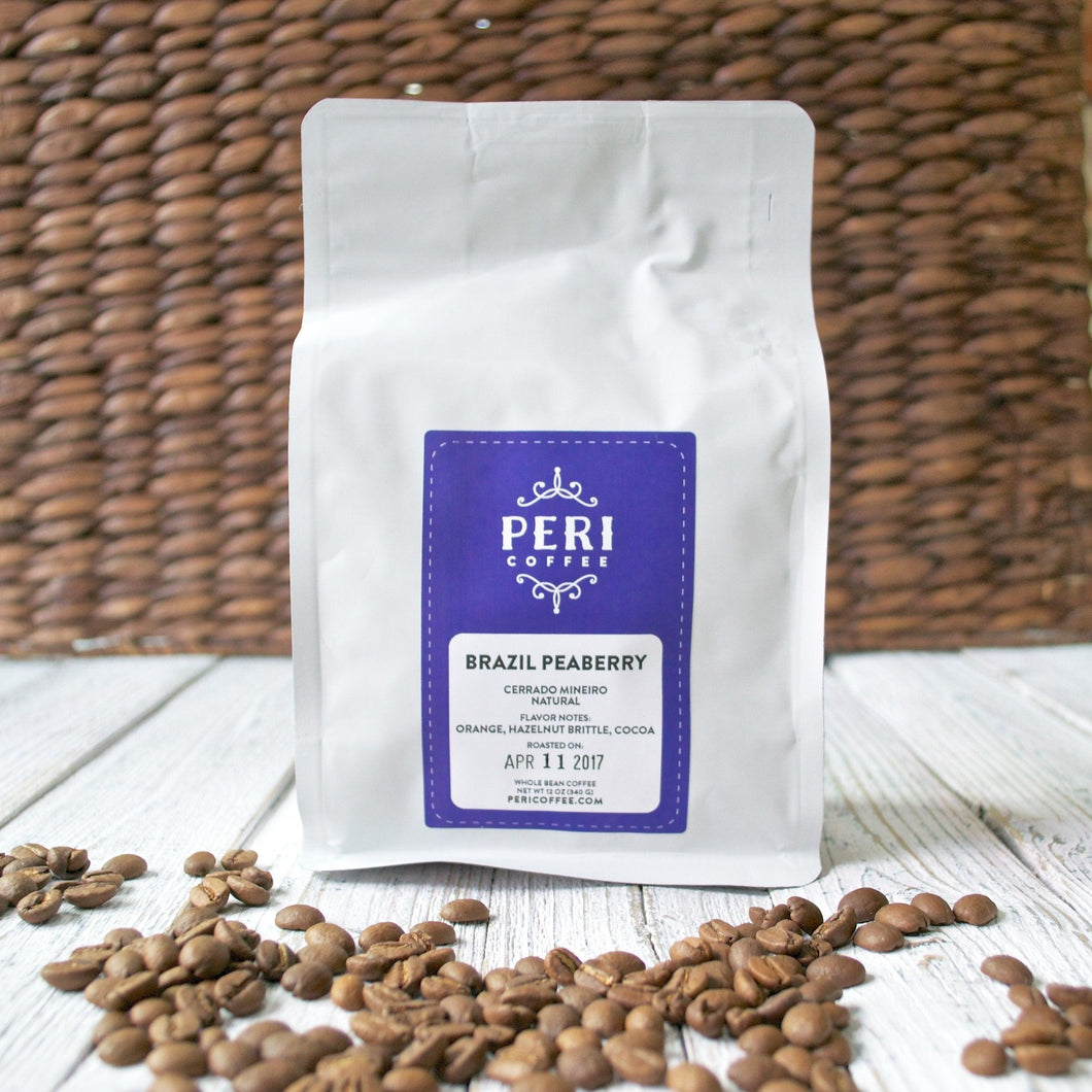Brazil Peaberry, Coffee by Peri
