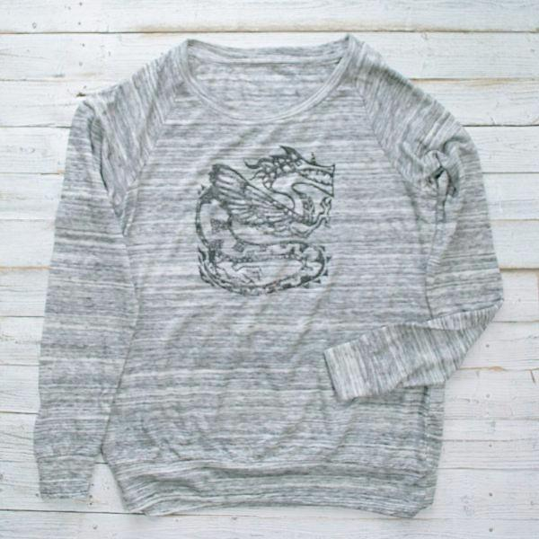 DRAGON - Slouchy Pullover : LIMITED Uni-T
