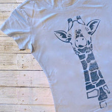 Giraffe T shirt | Animal Print Shirt | Womens Bamboo Clothing - Uni-T