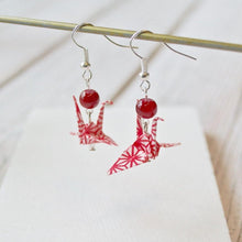 Origami Crane Earrings Uni-T
