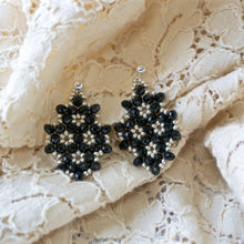 Czech Crystals & Seed Beads Earrings - Uni-T