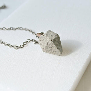 Cement Diamond Necklace Uni-T