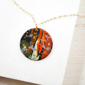 Polymer Clay  Pendant Necklace Uni-T