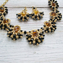 black-gold-statement-necklace