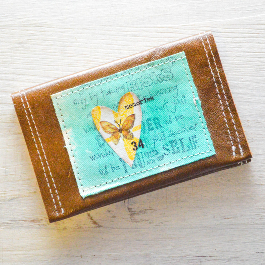 Leather Business or Credit Card Holder Uni-T