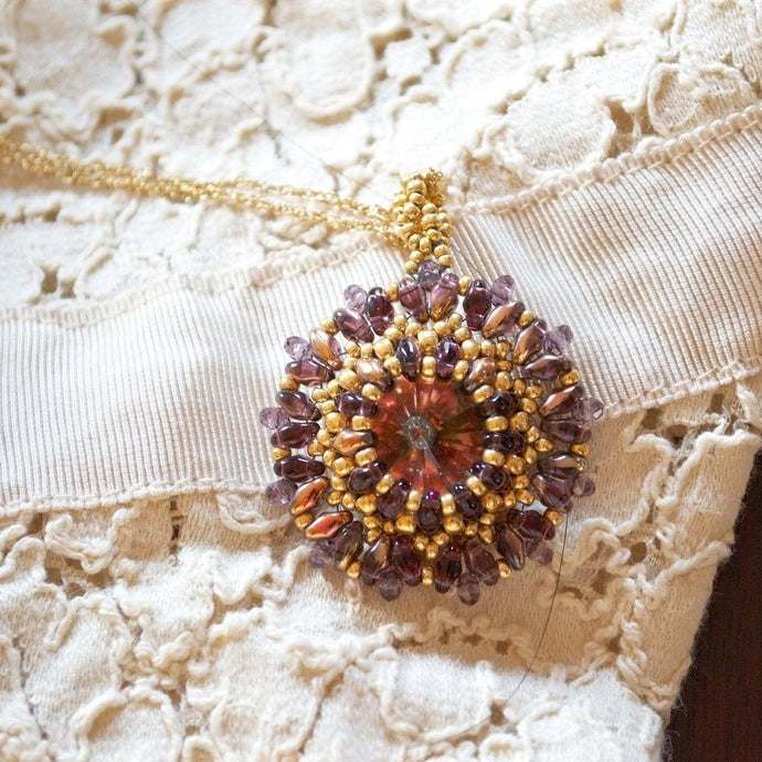 Pendant Purple Gold Uni-T