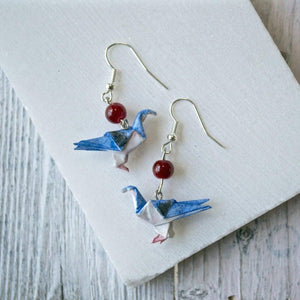 Origami Dove Earrings Uni-T