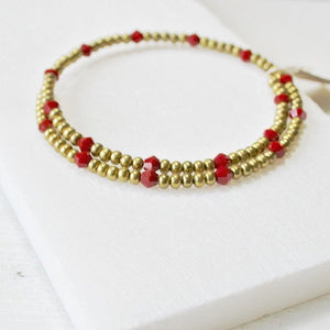 Stretch Beaded Bangle Bracelets, One Size Fits All Uni-T