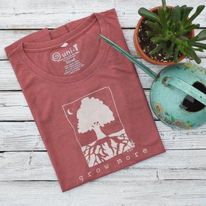 GROW MORE - Tree T-shirt for Women Uni-T
