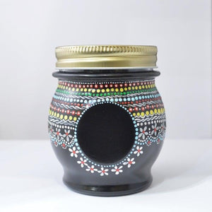 Hand painted Jar Uni-T