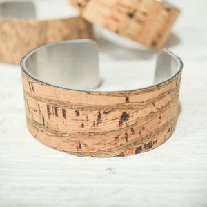 Cork Cuff | Eco-friendly Jewelry Uni-T