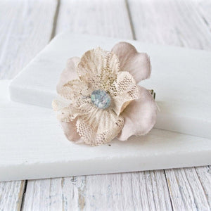 Lacy Flower Hairpin or Broach Uni-T