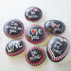 Love Message Quote Stones Uni-T