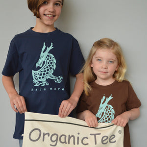 DARE MORE Organic T-shirt for Kids
